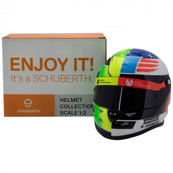 Mick Schumacher Replica Helmet Spa 2017 1 2 Scale Gp Store