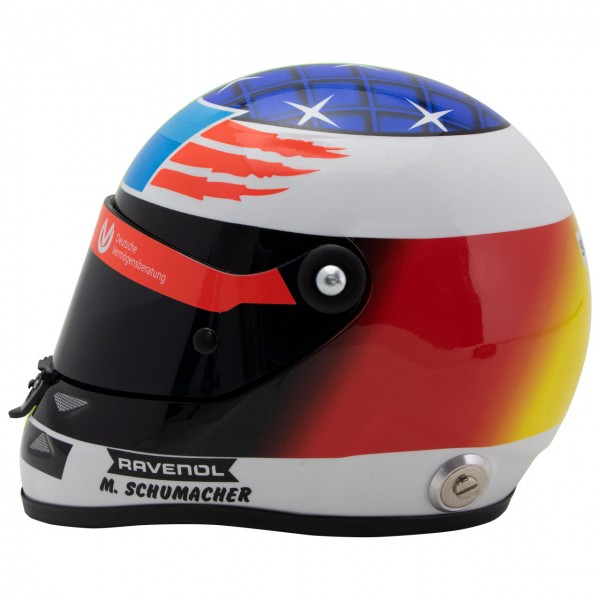 Mick Schumacher Replica Helmet Spa 2017 1 2 Scale Gp Store